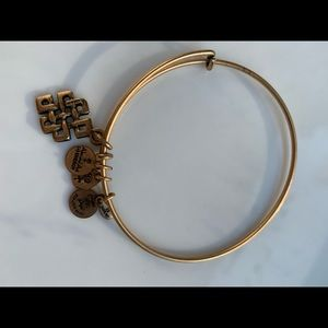 Alex and Ani Jewelry - Alex and Ani set of 2 Gold Bangles